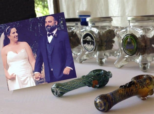 Marijuana Bars at Weddings